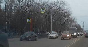 В Стерлитамаке водитель BMW сбил женщину на переходе