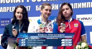 Полина Егорова завоевала второе «серебро» на чемпионате РФ по плаванию