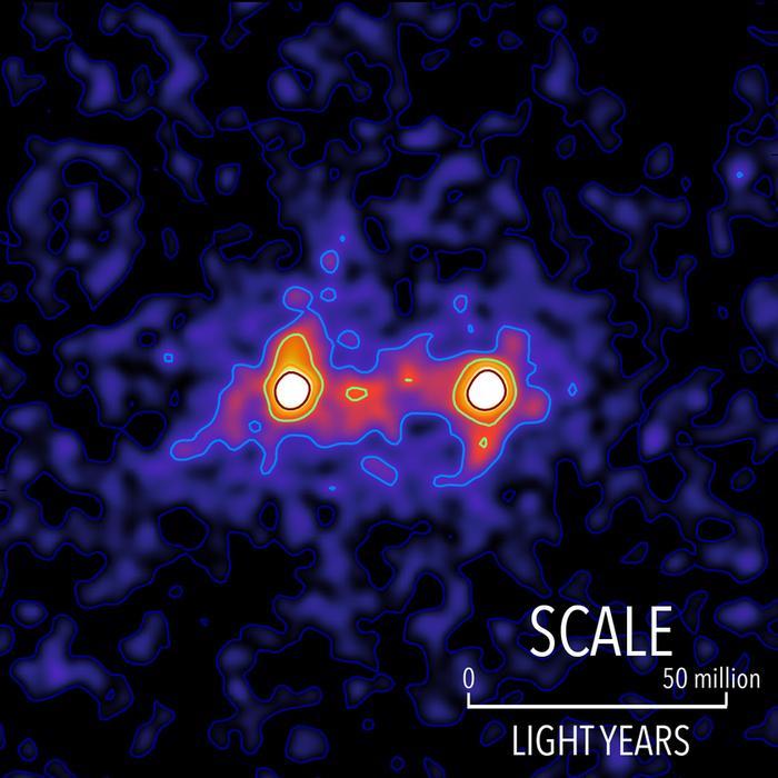 Photo of Ученые получили подробный снимок темной материи