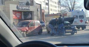 ДТП в центре города Туймазы