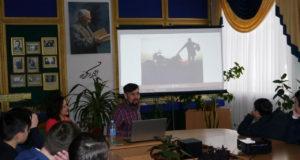 В Уфе путешественник Денис Умутбаев рассказал о своих поездках