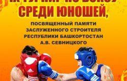 Стерлитамакский район приглашает на памятный турнир по боксу