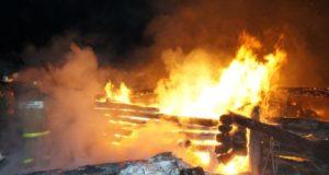 В Башкирии из за непотушенной сигареты в огне погибли три человека