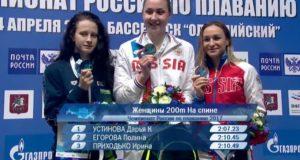 Башкирская спортсменка Полина Егорова – серебряный призер чемпионата РФ
