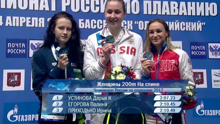 Photo of Башкирская спортсменка Полина Егорова – серебряный призер чемпионата РФ