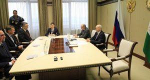 Глава Башкирии встретился с главным тренером «Салавата Юлаева» Эрккой Вестерлундом
