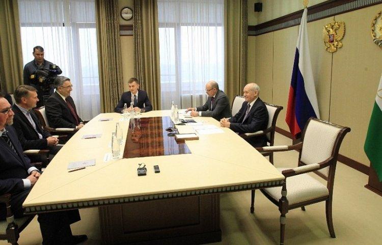 Photo of Глава Башкирии встретился с главным тренером «Салавата Юлаева» Эрккой Вестерлундом
