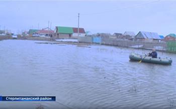 Photo of Видео: в селе Наумовка Стерлитамакского района сложилась сложная паводковая ситуация