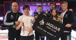 Спортсмены уфимского бойцовского клуба «Ягуар» завоевали золото престижного турнира в Грозном