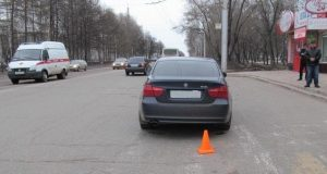 В Башкирии 47 летняя женщина попала под колеса BMW