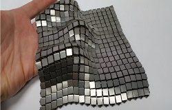 В NASA начали печать космической ткани из металла