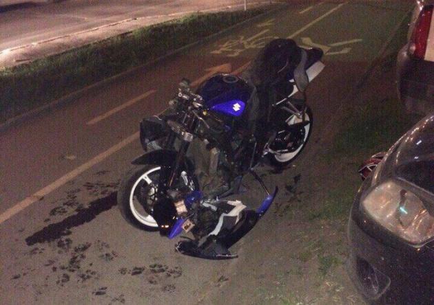 Photo of В Уфе мотоциклист сбил пьяного пешехода
