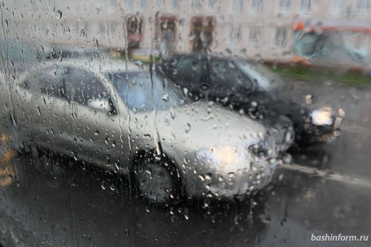 МЧС по Башкирии предупреждает о сильных ливнях и шквалистом ветре