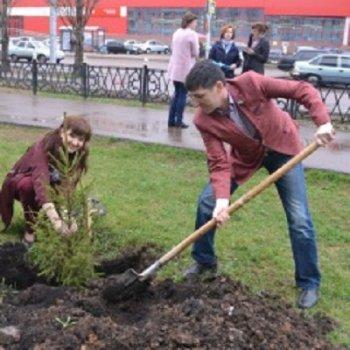 В Стерлитамаке депутаты присоединились к акции «Дерево Победы»