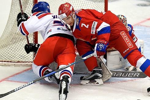 Хоккейная Сборная России выиграла Евротур
