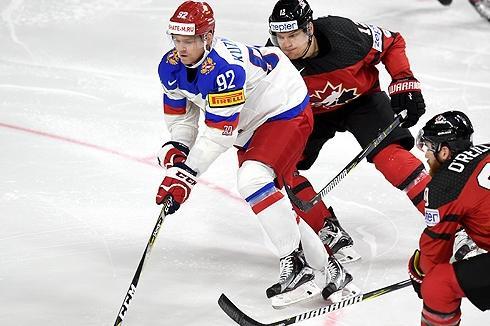 Россияне не удержали победного счета против канадцев на ЧМ-2017 по хоккею
