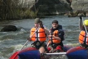 В Башкирии туристам, сплавлявшимся по реке, потребовалась помощь спасателей