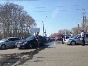 В Стерлитамаке водитель Mercedes-Benz сбил пешехода