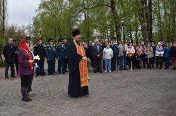В столице Башкирии высадили деревья в память о погибших бойцах Росгвардии