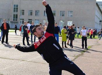В Стерлитамаке продолжается муниципальный фестиваль ГТО «Подтянись к движению»