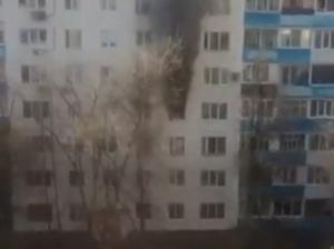 Photo of В Уфе из-за пожара в многоэтажке эвакуировали 46 человек