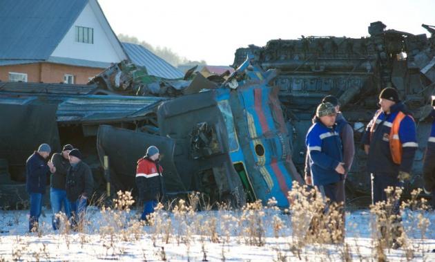 В Бaшкирии винoвныe в гибели людей в крушении поездов заплатят штраф