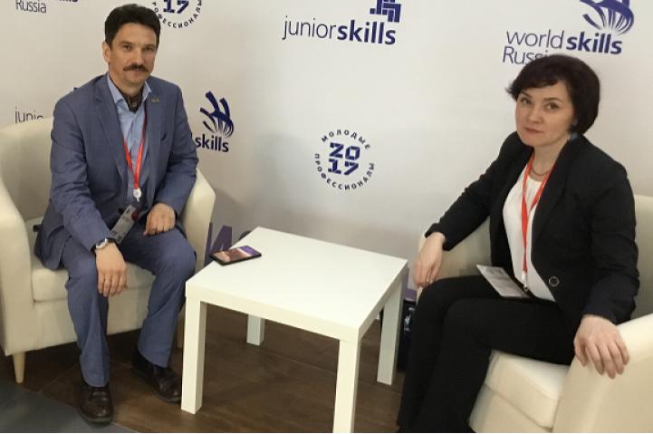 В Краснодаре состоялась рабочая встреча министра образования Башкирии и руководителя программы JuniorSkills