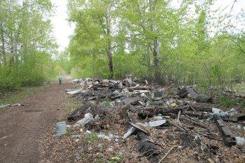 Активисты ОНФ выявили незаконные свалки в Уфимском районе