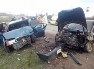 В Стерлитамаке в районе поселка Шах-тау произошло смертельное ДТП