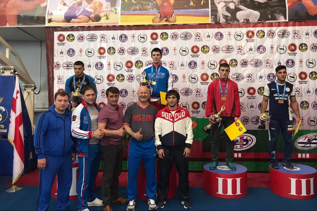 Борец из Башкирии одержал победу на Международном турнире по греко-римской борьбе среди молодежи в Грузии