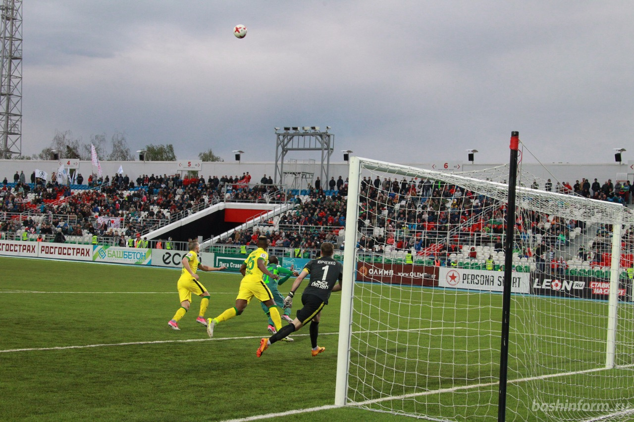 ФК «Уфа» вырвал победу у «Анжи»