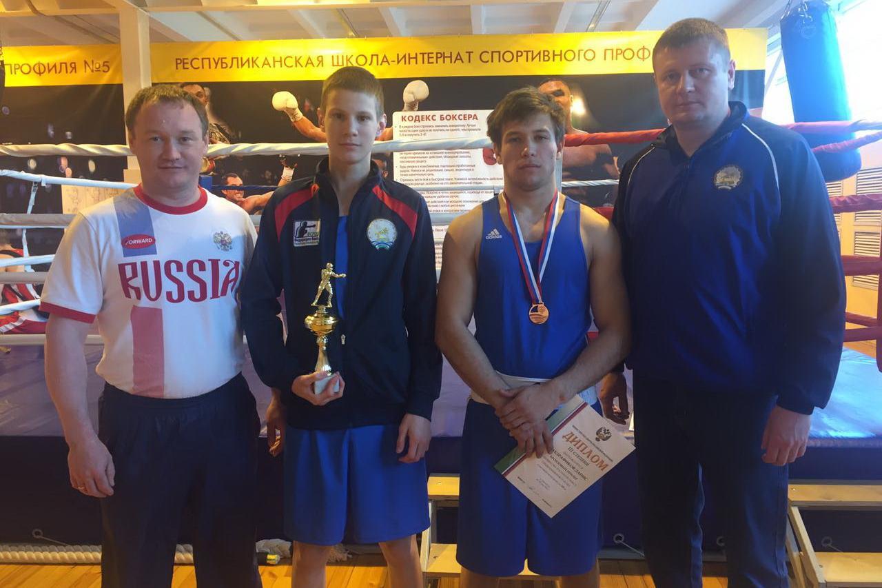 Молодые башкирские боксеры отличились в Оренбурге