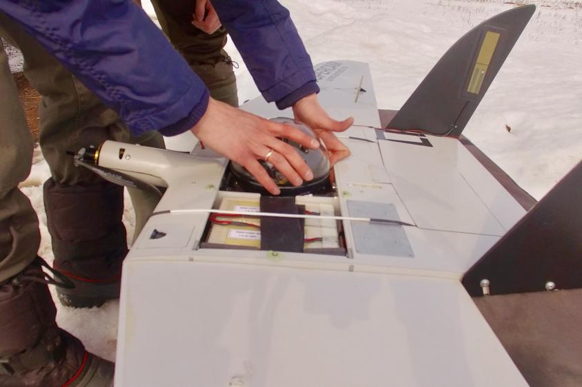 В Бaшкирии Минэкологии применяет в работе беспилотники