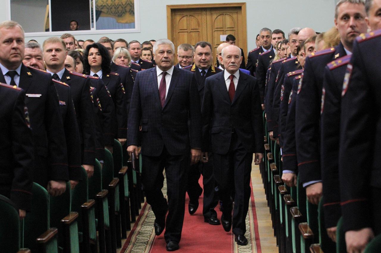 Состоялась рабочая встреча Рустэма Хамитова и министра внутренних дел России Владимира Колокольцева