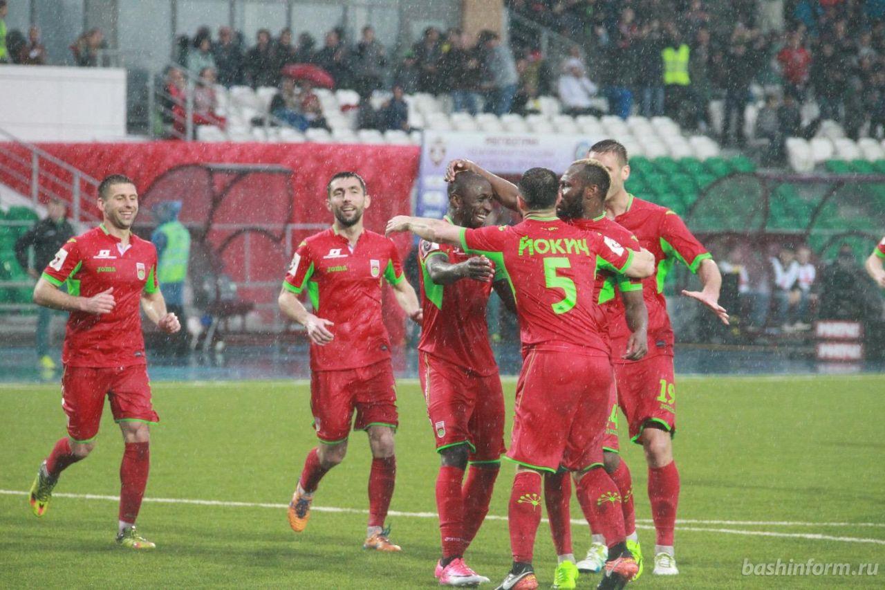 «Уфа» завершила третий свой сезон седьмой - с лучшим результатом в своей истории