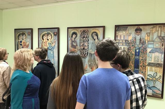 В Уфе открылась выставка Николая Рериха «Панно для моленной»