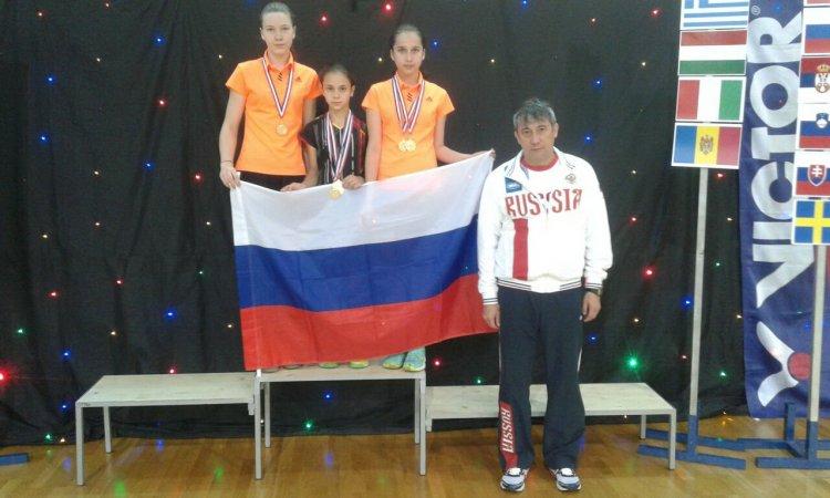 Бaшкирскиe бадминтонисты стали призерами «Adria Youth International 2017»