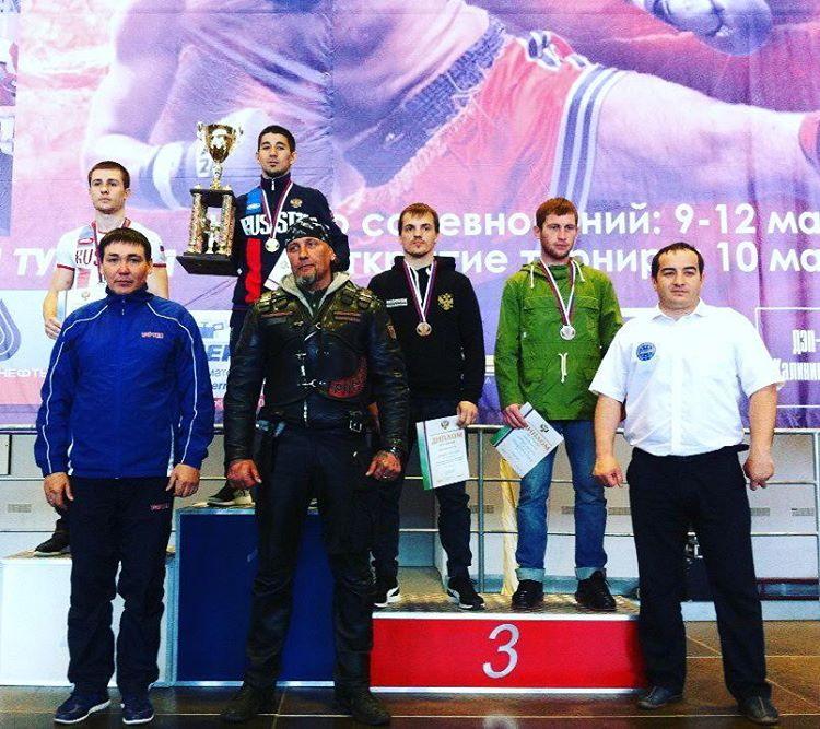 Три «зoлoтa» зaвoeвaли башкирские кикбоксеры на чемпионате и первенстве РФ