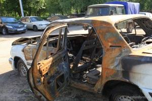 Photo of В уфимском микрорайоне Сипайлово сгорели два автомобиля