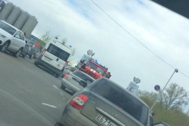 Photo of В Уфе водитель получил ожоги, спасая баллон с газом из горящего автомобиля