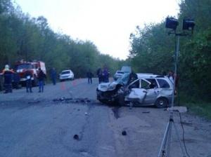 В Башкирии в столкновении двух автомобилей погибли пять человек