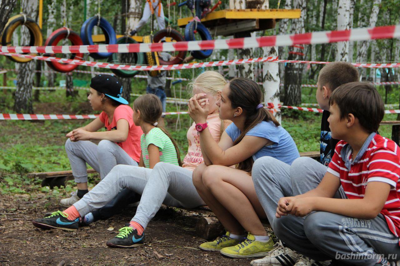 В Башкирии летом поправят здоровье и отдохнут более 366 тысяч детей