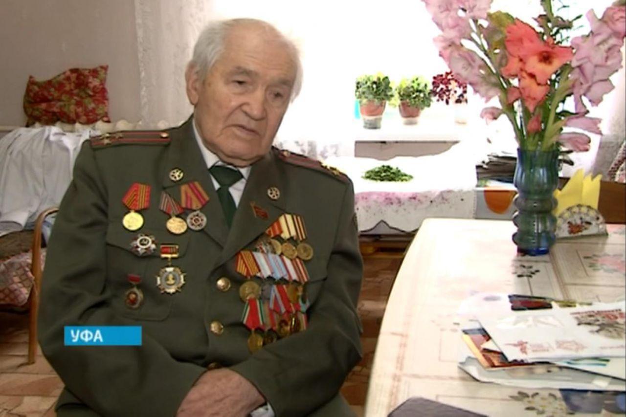 В Уфе простятся с ветераном Великой Отечественной войны Джавидом Кузеевым