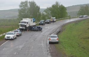 Смертельное ДТП в Башкирии: столкнулись «Дэу Нексия» и «КамАЗ»