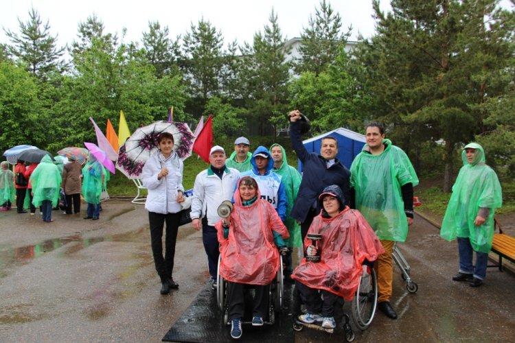 В уфимском парке «Кашадан» состоялись соревнования среди людей с ограниченными возможностями