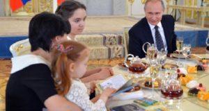 Владимир Путин впервые рассказал о внуках