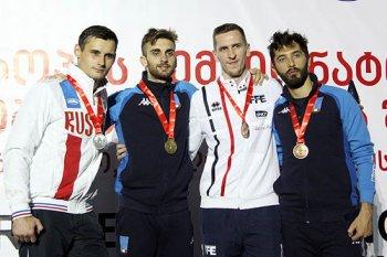 Photo of Башкирский спортсмен Тимур Сафин – серебряный призер чемпионата Европы по фехтованию