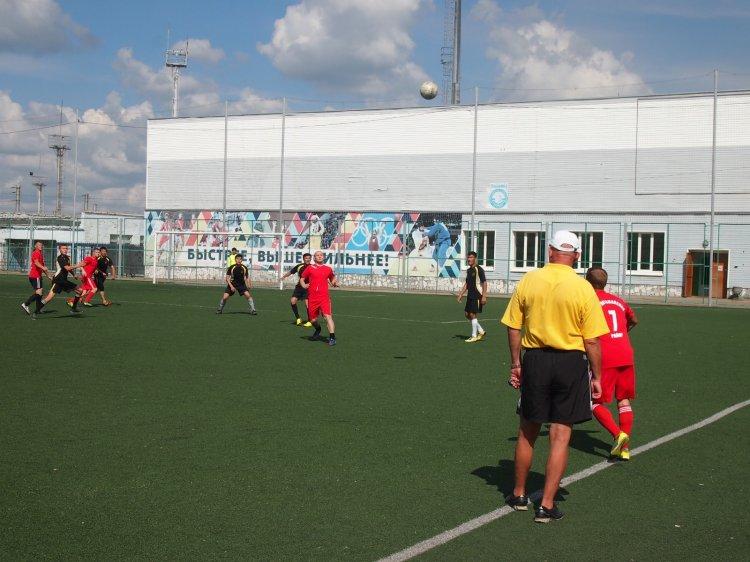 В Стерлитамаке завершились соревнования по футболу XXV Сельских спортивных игр