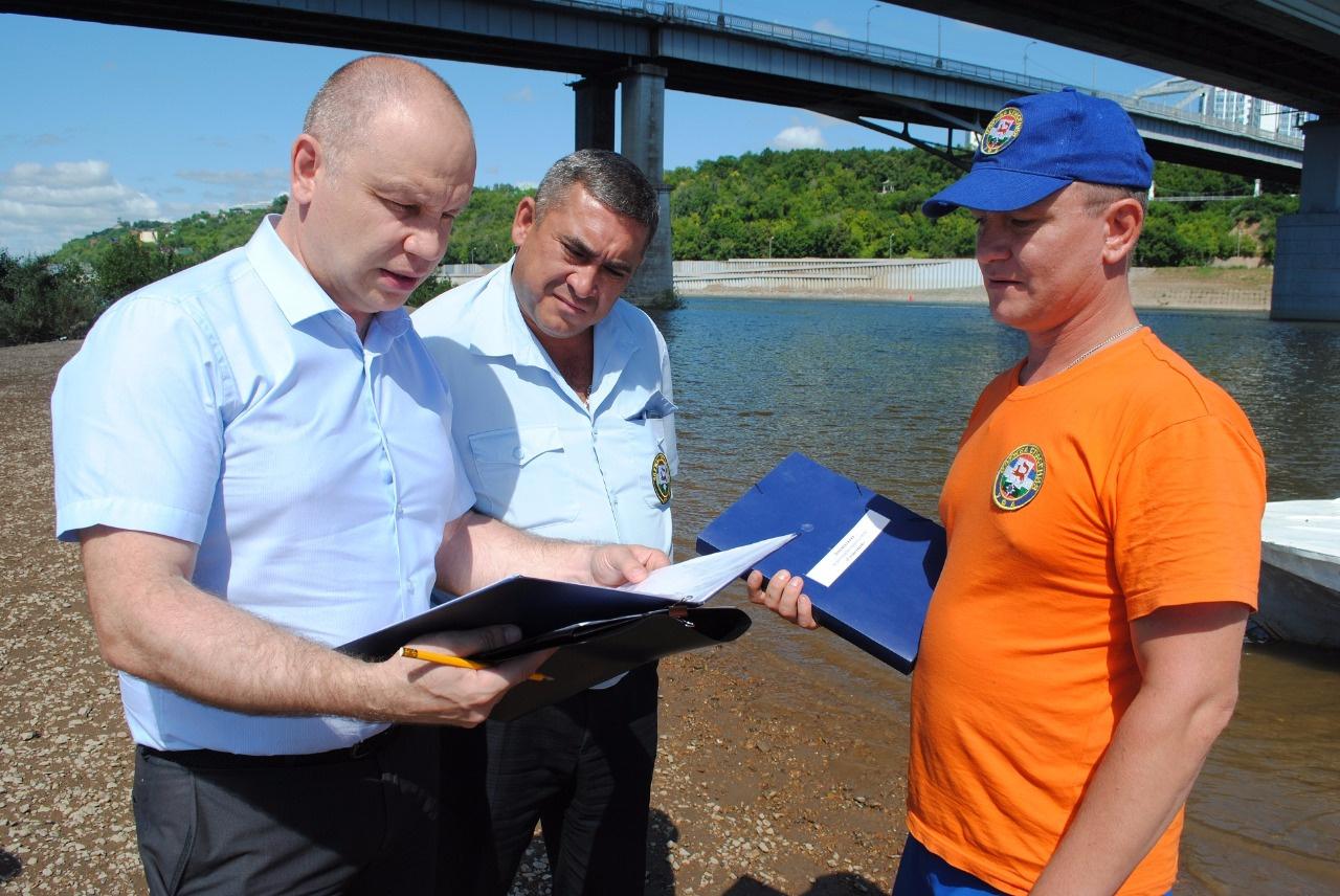 Photo of В Уфе проверили водно-спасательные посты на официальных пляжах