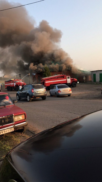 Photo of В Башкирии произошло возгорание помещения